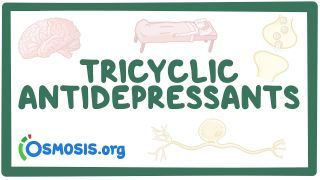 Video poster for Tricyclic antidepressants