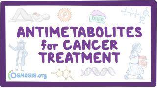 Video poster for Antimetabolites for cancer treatment