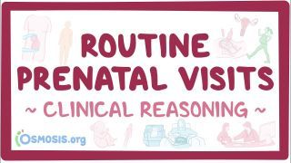 Video poster for Clinical Reasoning: Routine prenatal care
