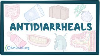 Video poster for Antidiarrheals