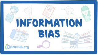 Video poster for Information bias