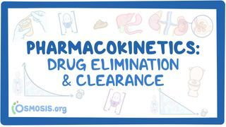 Video poster for Pharmacokinetics: Drug Elimination and clearance
