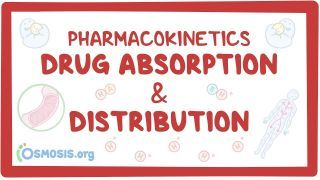 Video poster for Pharmacokinetics: Drug absorption and distribution