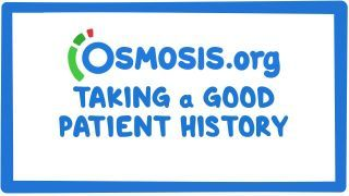 Video poster for Clinician's Corner: Taking a good patient history