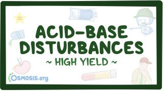 Video poster for High Yield: Acid-base disturbances