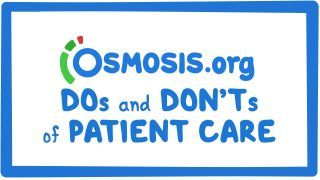 Video poster for Clinician's Corner: Do's and don'ts of patient care