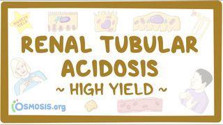 Video poster for High Yield: Renal tubular acidosis