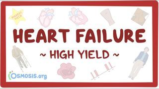 Video poster for High Yield: Heart failure