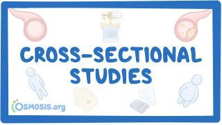 Video poster for Cross sectional study
