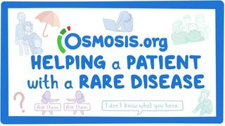 Video poster for Clinician's Corner: Helping a patient with a rare disease