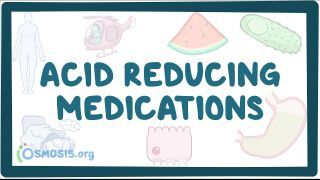 Video poster for Acid reducing medications