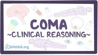 Video poster for Clinical Reasoning: Coma