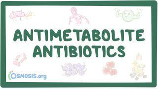 Video poster for Antimetabolites: Sulfonamides and trimethoprim