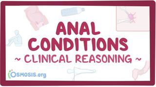 Video poster for Clinical Reasoning: Anal conditions