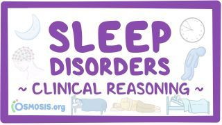 Video poster for Clinical Reasoning: Sleep disorders