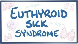 Video poster for Euthyroid sick syndrome