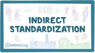 Video poster for Indirect standardization