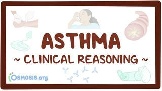 Video poster for Clinical Reasoning: Asthma
