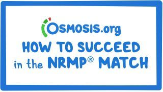Video poster for Clinician's Corner: How to succeed in the NRMP Match