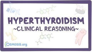 Video poster for Clinical Reasoning: Hyperthyroidism